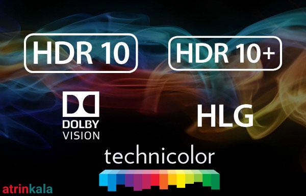 انواع فرمت های HDR