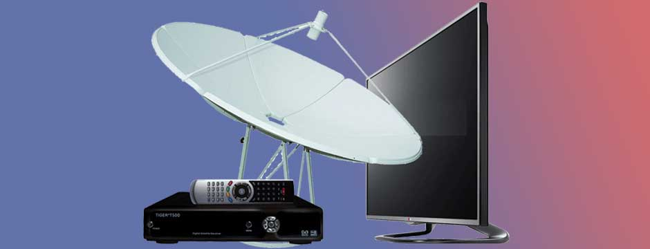 تلویزیون ماهواره دار یا رسیور دار