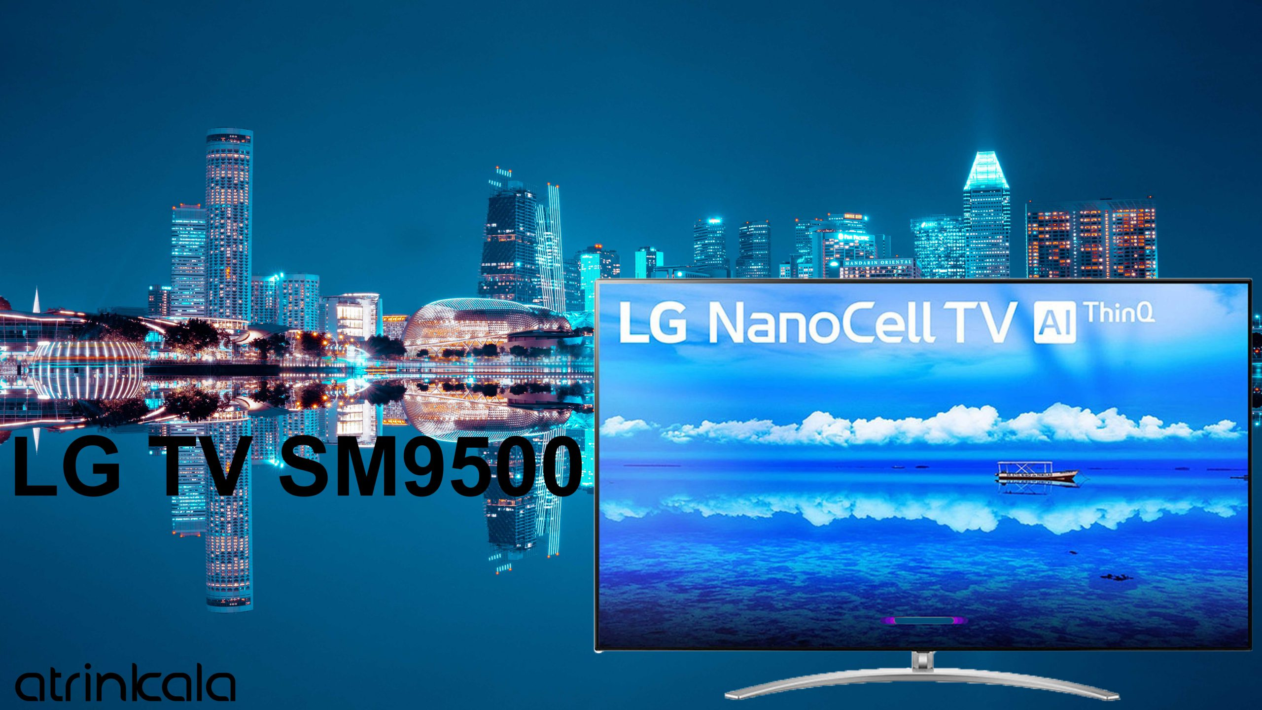 قیمت تلویزیون ال جی رسیور دار SM9500