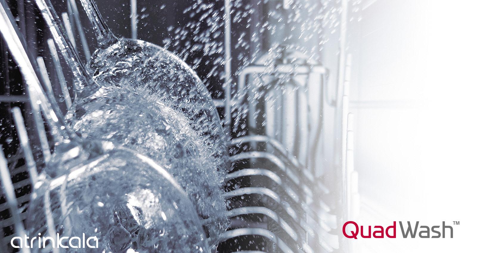 QuadWash ظرفشویی ال جی