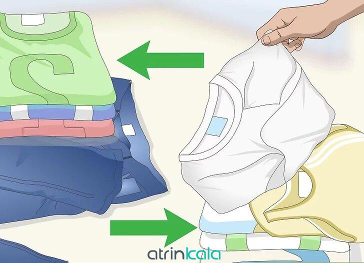 نحوه شستشوی لباس در ماشین لباسشویی