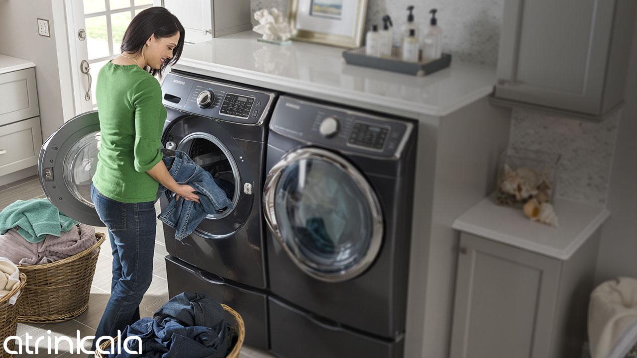 عملکرد شستشوی لباسشویی سامسونگ