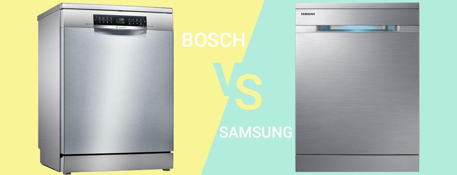 مقایسه ماشین ظرفشویی سامسونگ و بوش