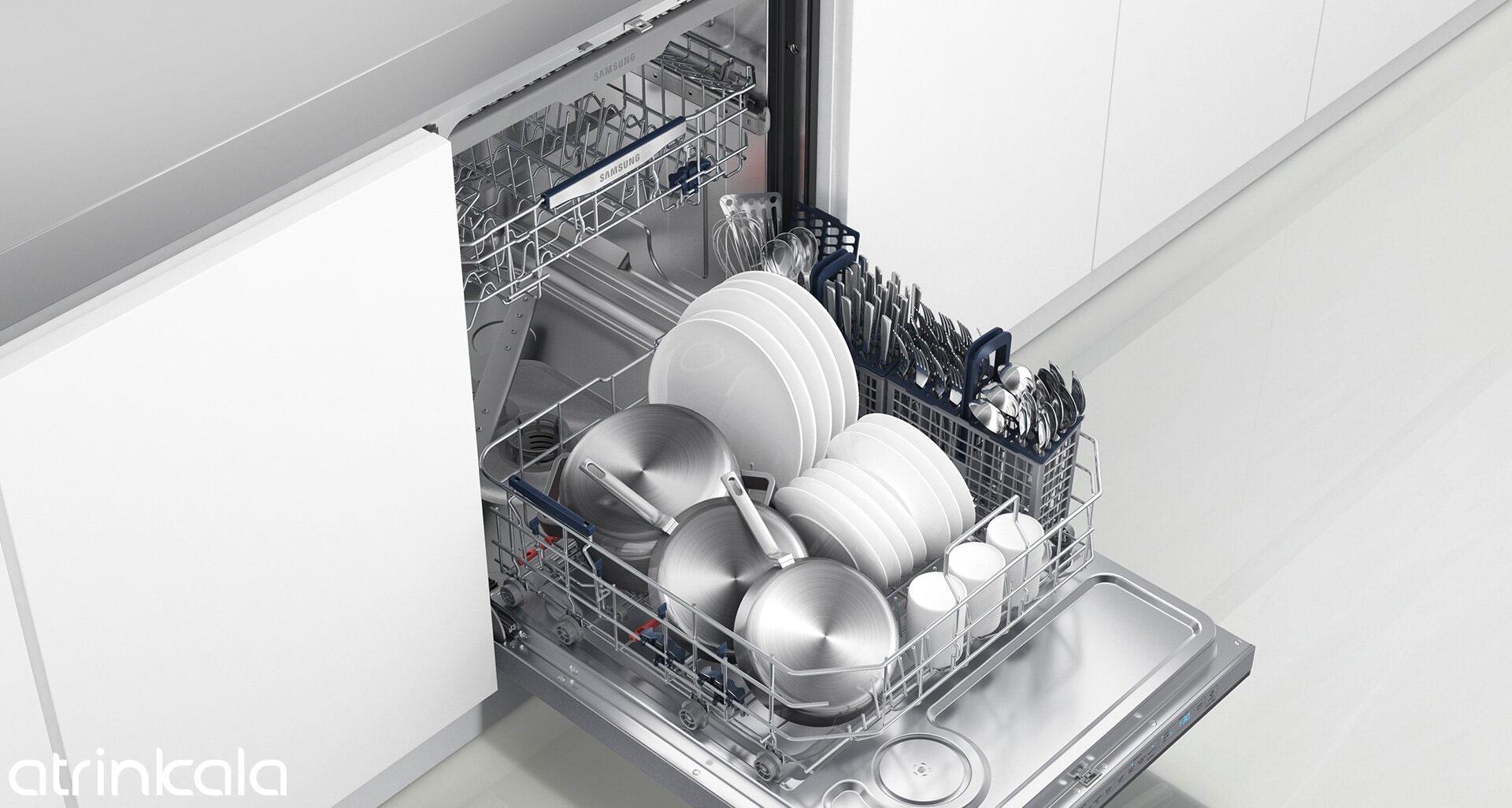 ظرفیت ظرفشویی سامسونگ