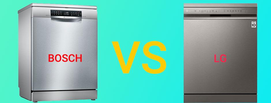 مقایسه ماشین ظرفشویی بوش و ال جی