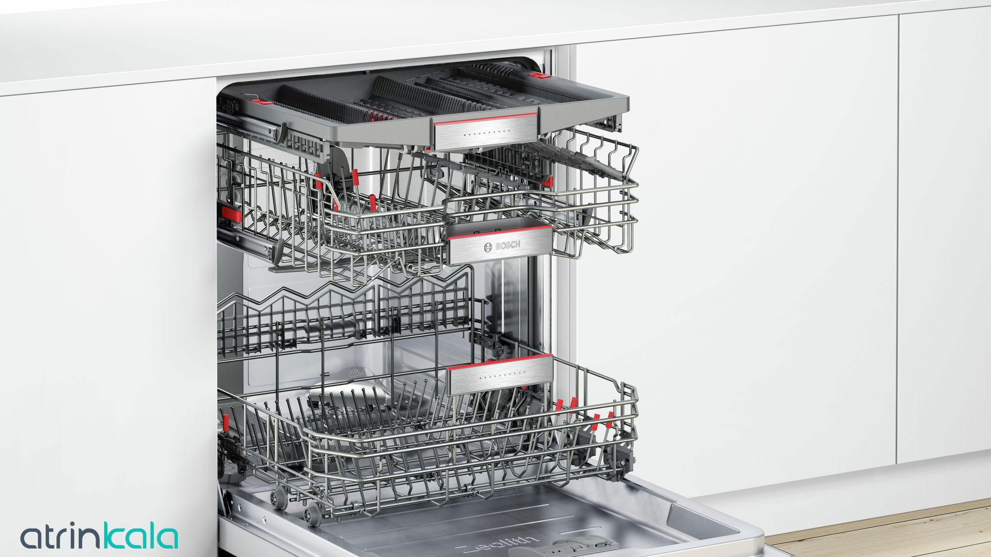 ظرفیت ظرفشویی بوش