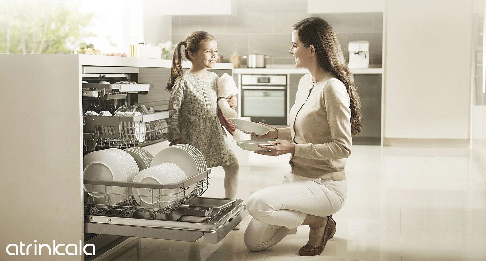 ویژگی های ماشین ظرفشویی ال جی