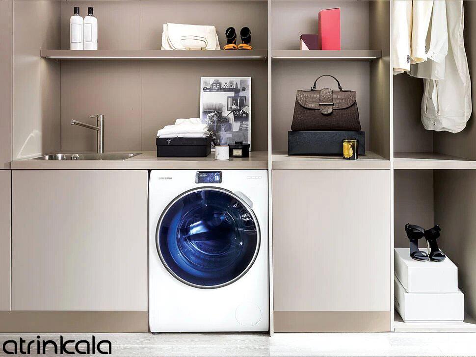 طراحی ماشین لباسشویی سامسونگ