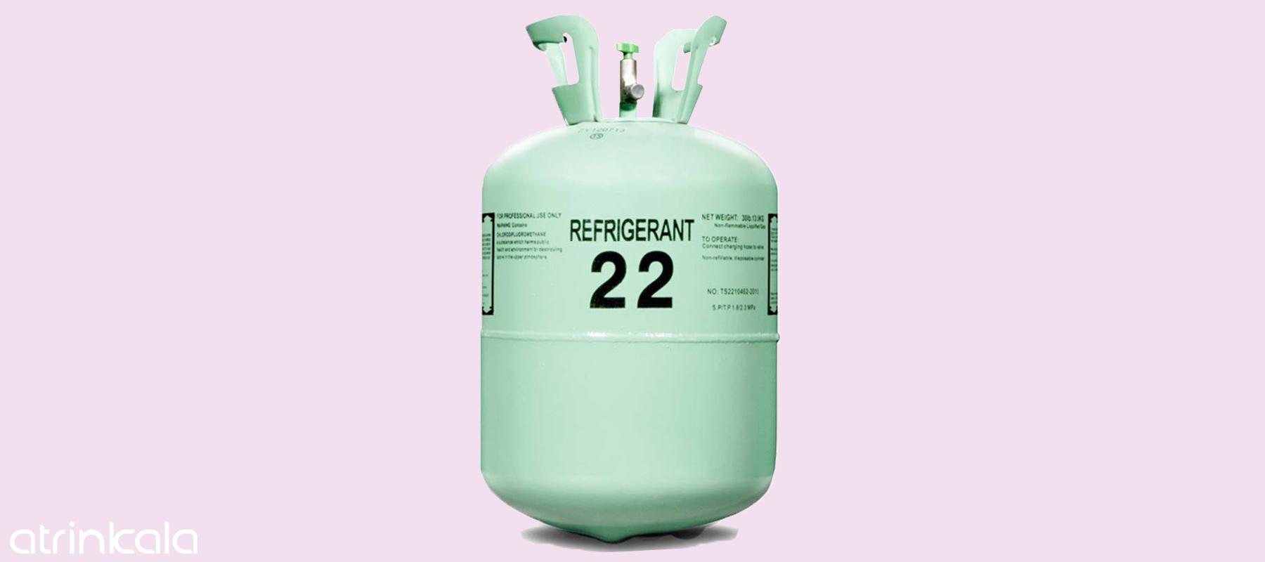 تفاوت گاز R22 با گاز R410