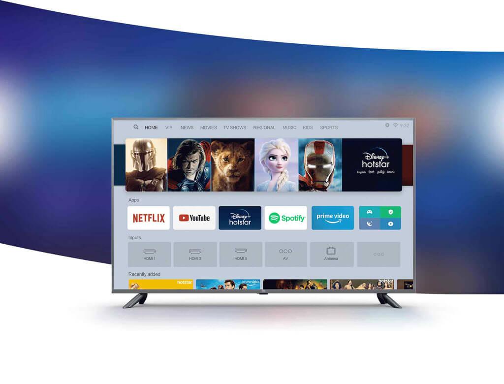 سیستم عامل تلویزیون شیائومی