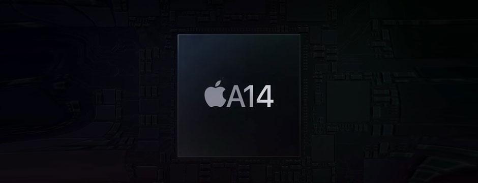 تراشه قدرتمند A14 در گوشی آیفون 12