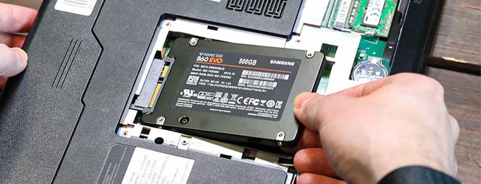 کاربرد هارد SSD در لپ تاپ