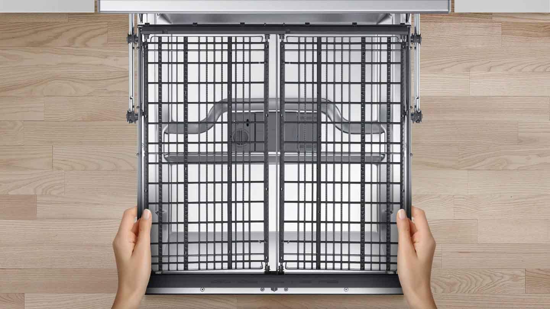 قفسه ای برای اقلام کوچک ظرفشویی سامسونگ 13 نفره DW60M5050
