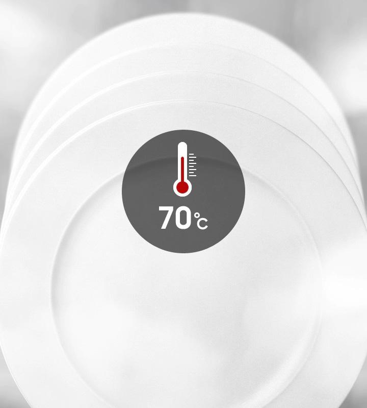 از بین بردن باکتری ها با شستشوی بهداشتی ظرفشویی سامسونگ 13 نفره DW5050