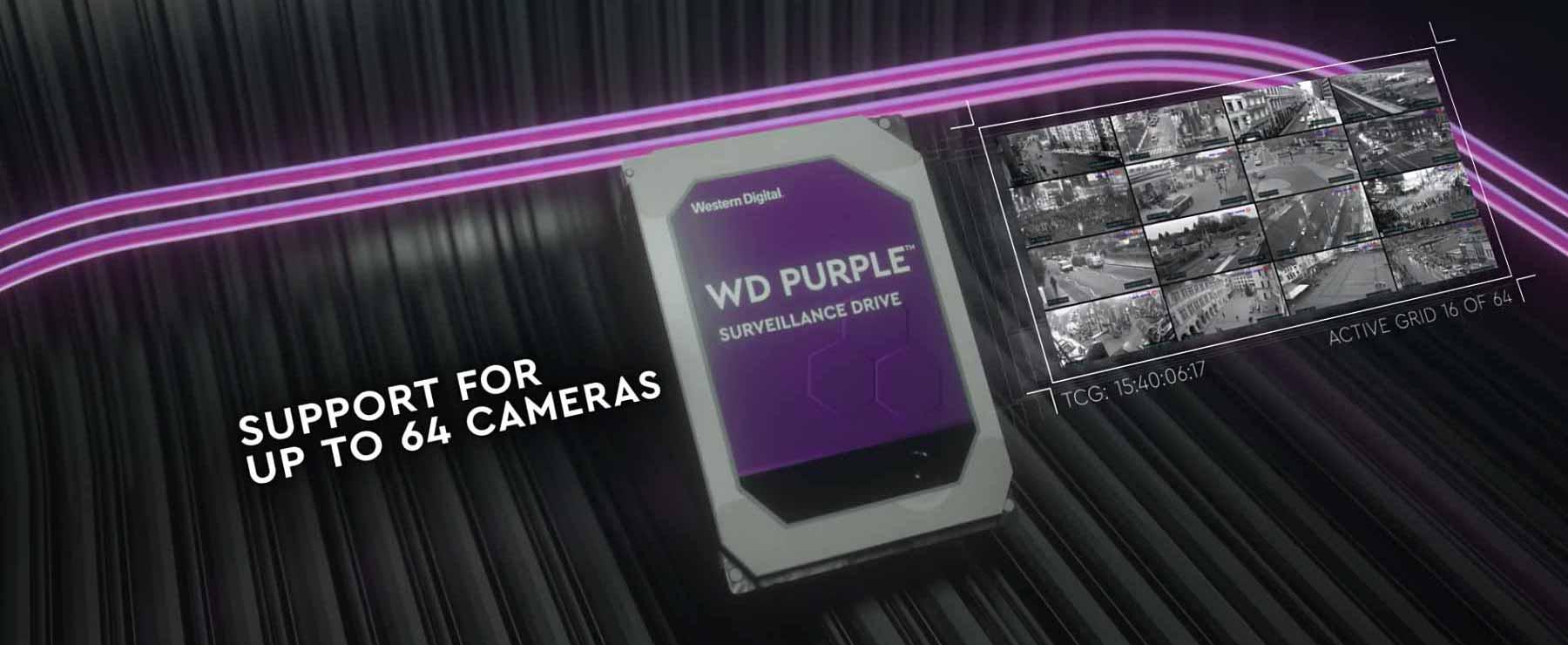 هارد دیسک وسترن دیجیتال Purple WD102PURZ