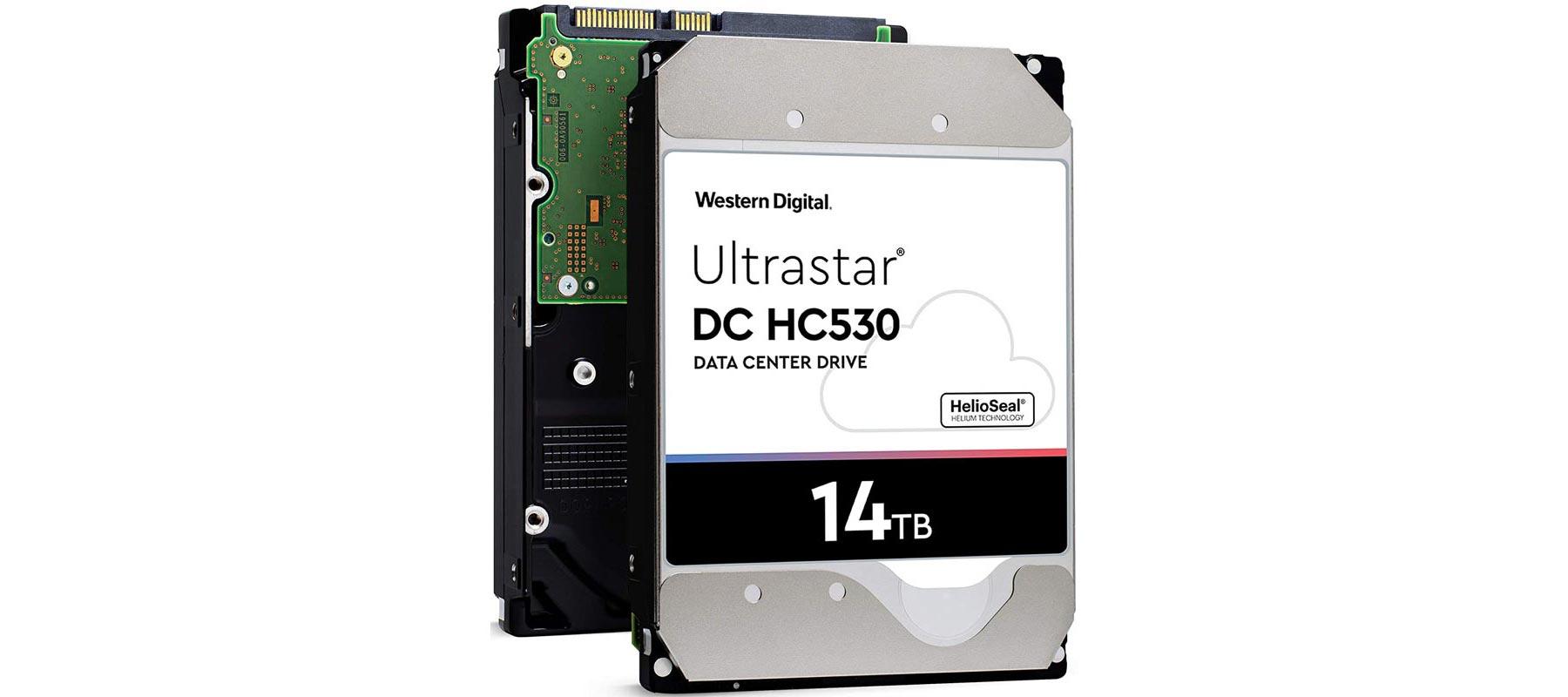 هارد دیسک وسترن دیجیتال Ultrastar DC HC530 ظرفیت 14 ترابایت