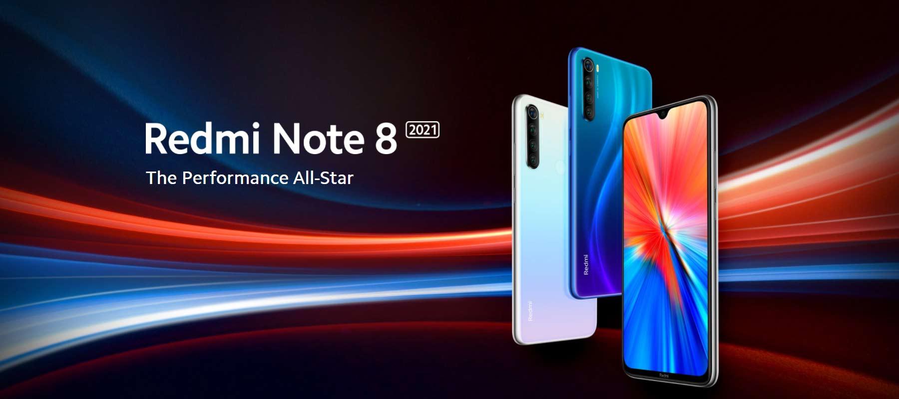 مشخصات گوشی شیائومی Redmi Note 8 2021