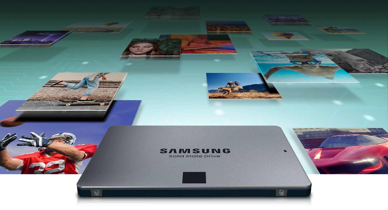 حافظه SSD سامسونگ 870QVO SATA III 2.5 ظرفیت 1 ترابایت