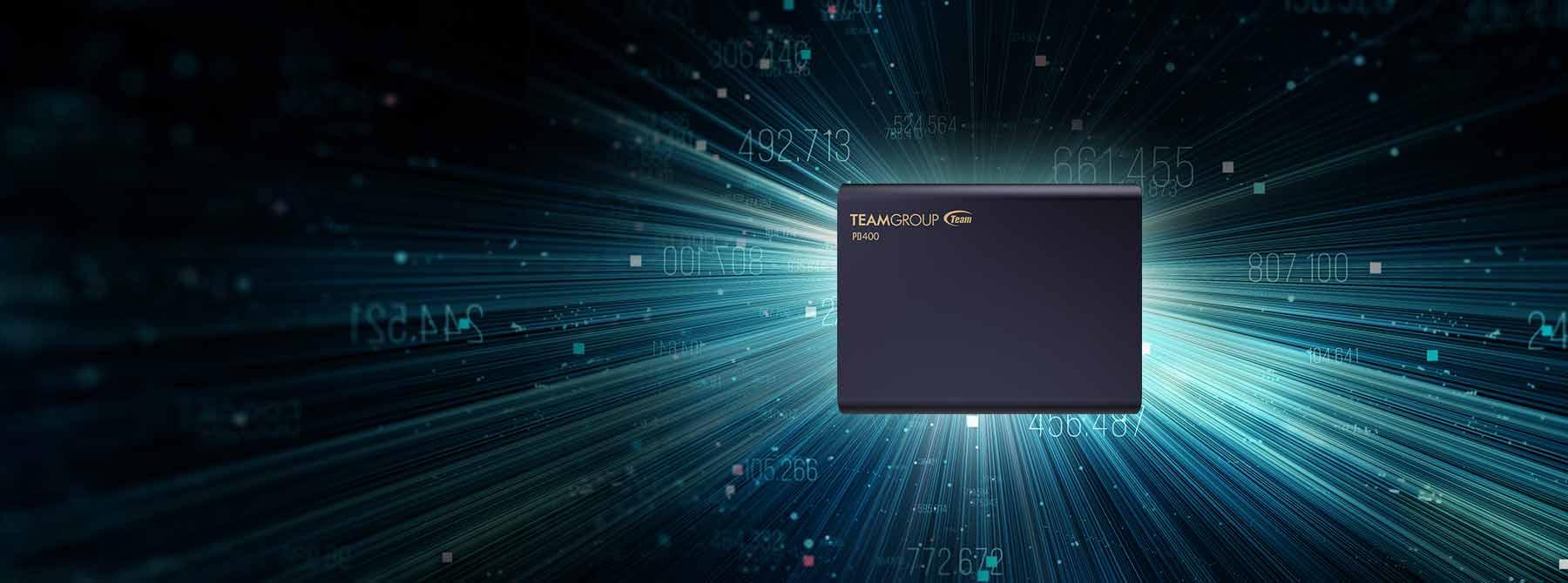 حافظه SSD TEAMGROUP PD400 ظرفیت 960 گیگابایت