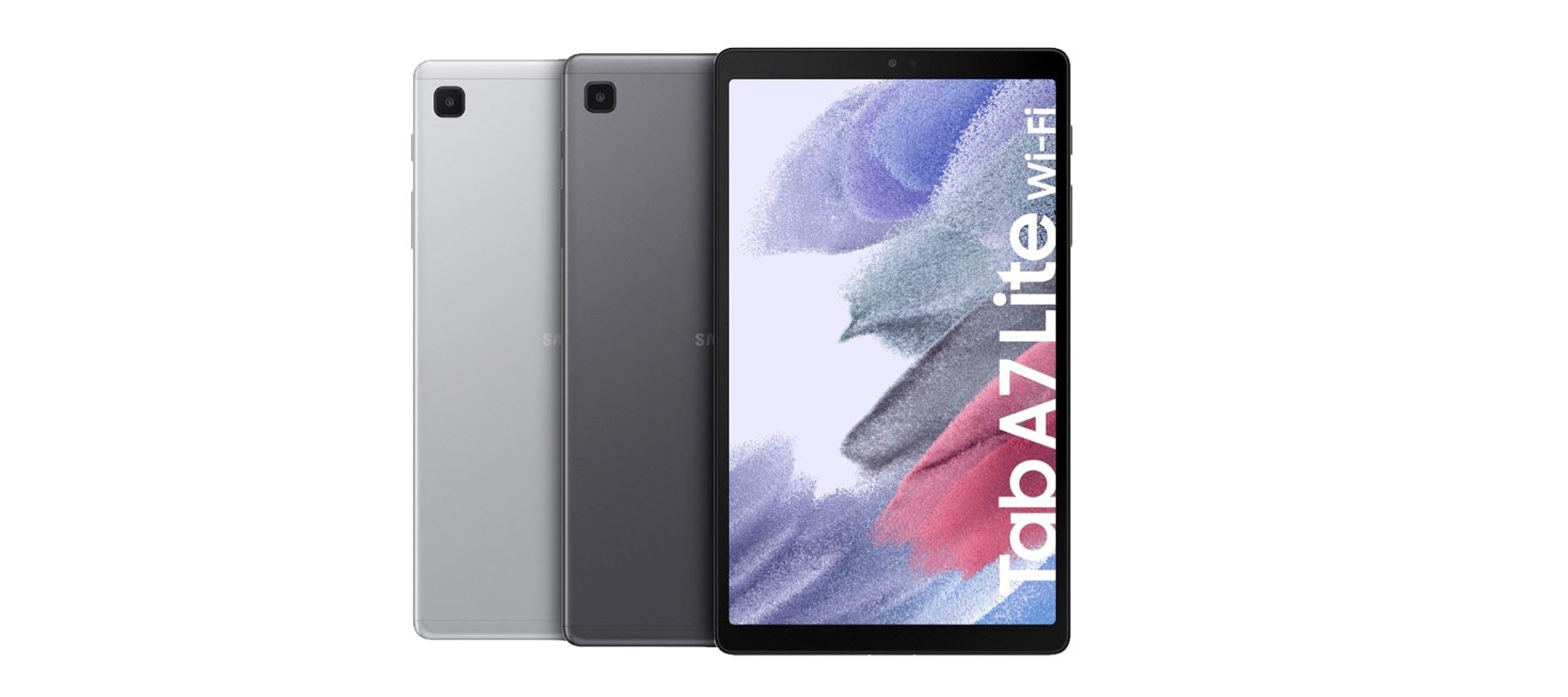 طراحی بدنه تبلت سامسونگ Galaxy Tab A7 Lite SM-T225