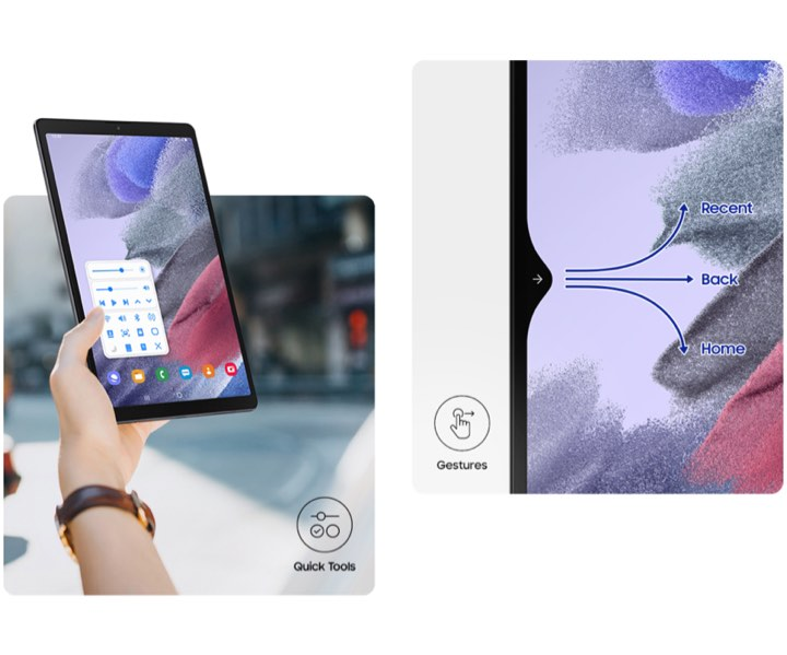 سایر ویژگی های تبلت سامسونگ Galaxy Tab A7 Lite SM-T225