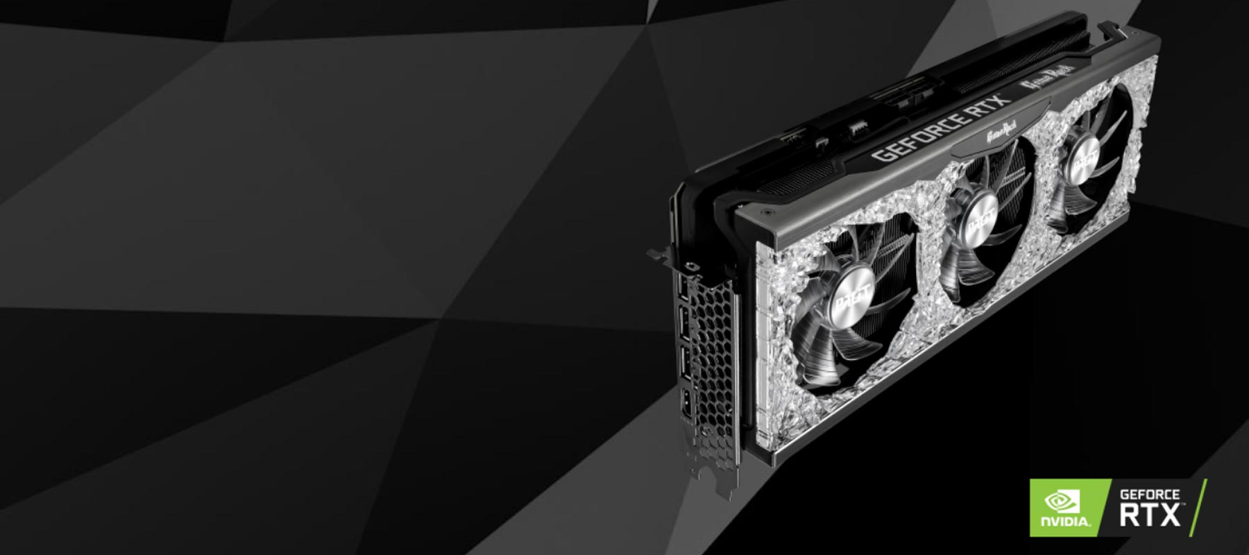 کارت گرافیک Palit GeForce RTX 3070 Ti GameRock OC