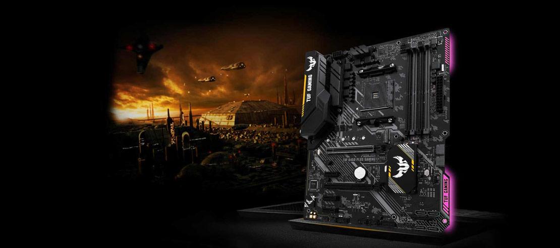 مادربرد ایسوس AMD TUF B450 ATX gaming