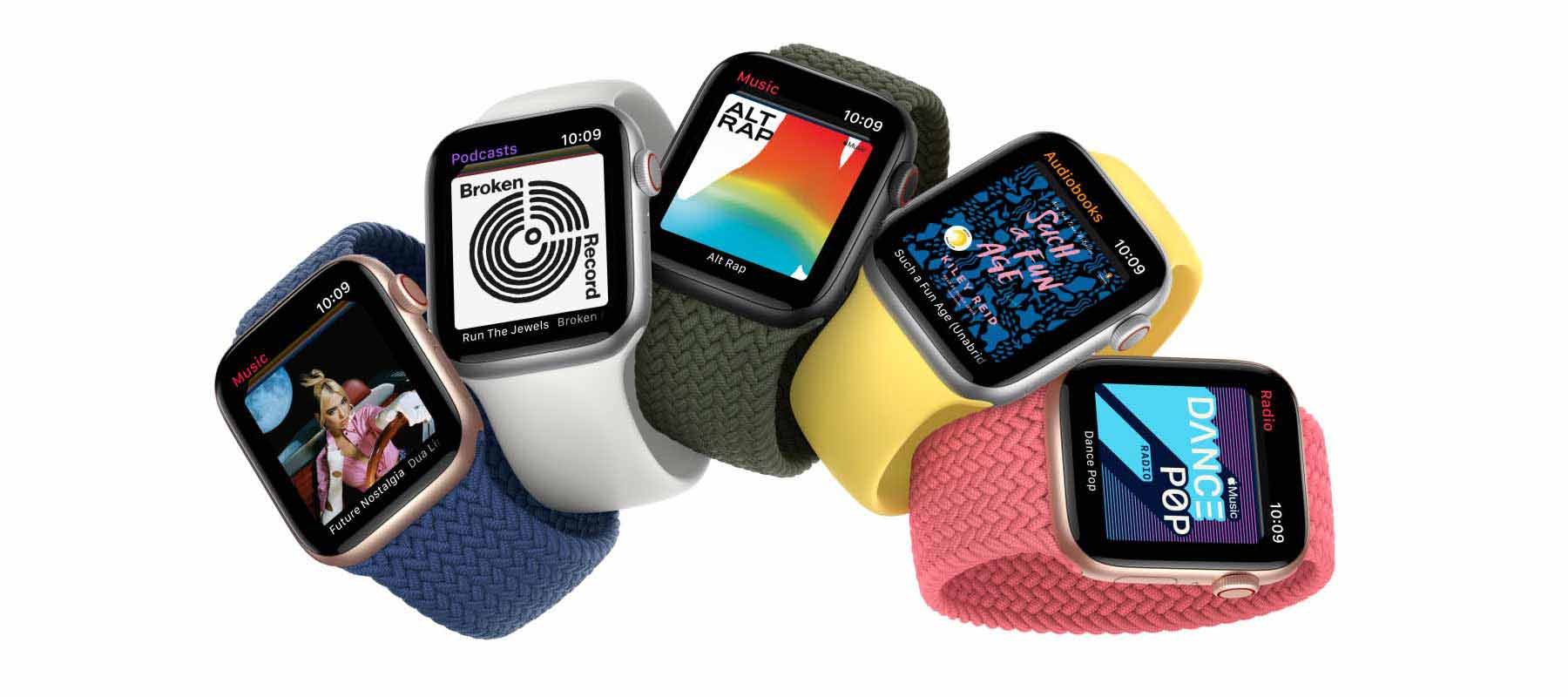 قابلیت پخش موسیقی در ساعت هوشمند اپل واچ SE