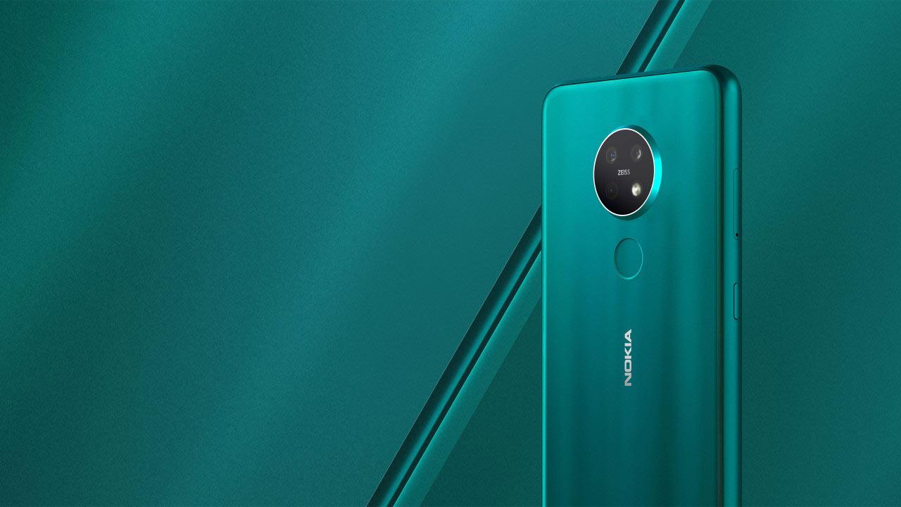 طراحی گوشی Nokia 7.2