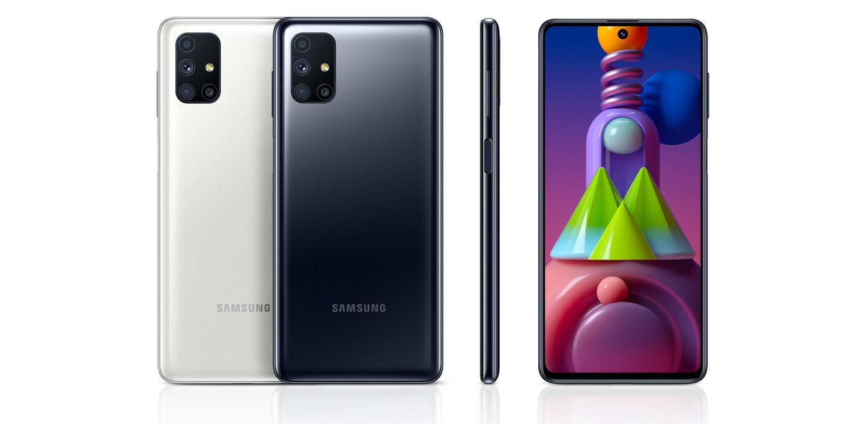 طراحی گوشی سامسونگ Galaxy M51