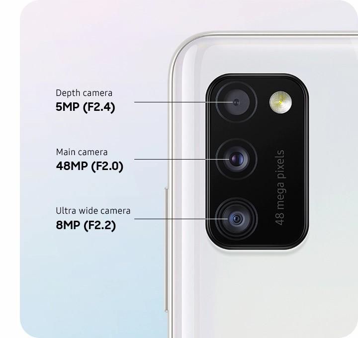 دوربین سه گانه گوشی سامسونگ Galaxy A41