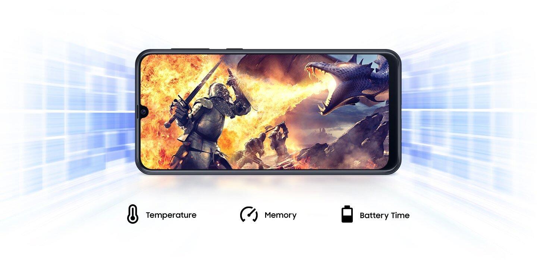 تقویت کننده گرافیکی در گوشی سامسونگ Galaxy M21