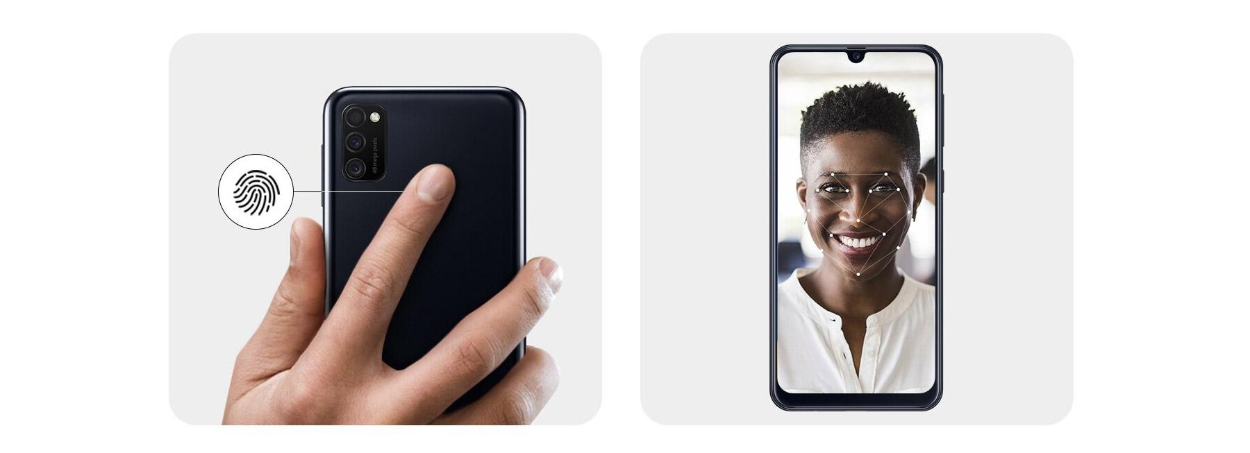دسترسی سریع و ایمن به گوشی سامسونگ Galaxy M21