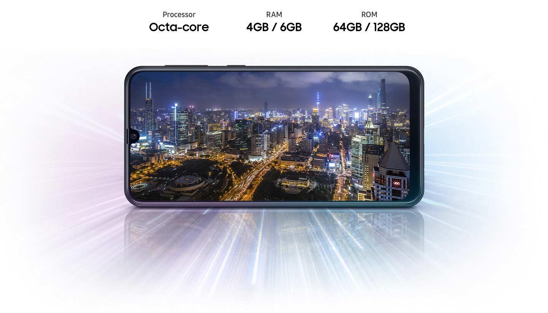سخت افزار گوشی سامسونگ Galaxy M21