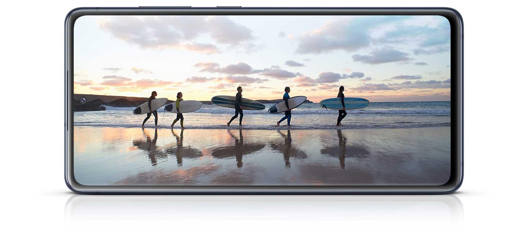 نمایشگر گوشی سامسونگ Galaxy S20 FE