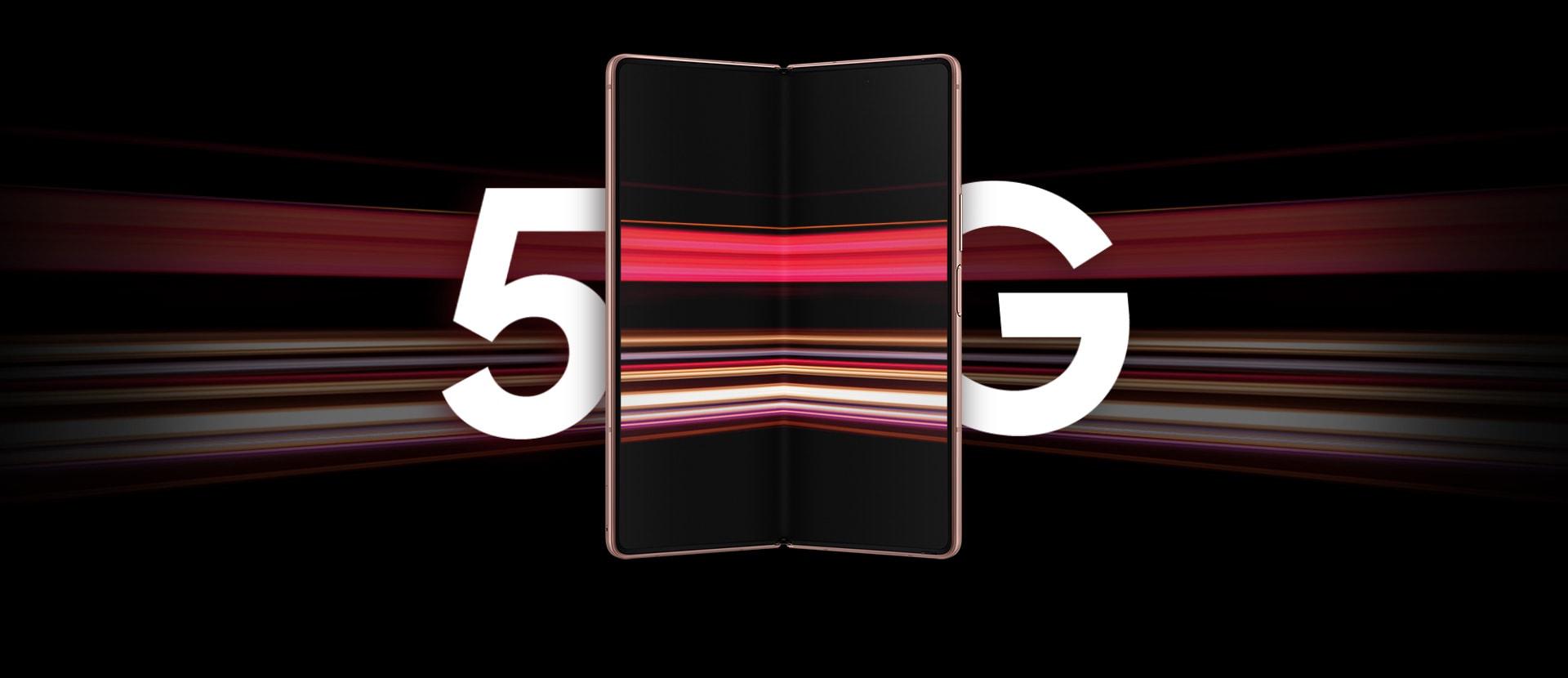 قابلیت 5G گوشی سامسونگ Galaxy Z Fold2 5G
