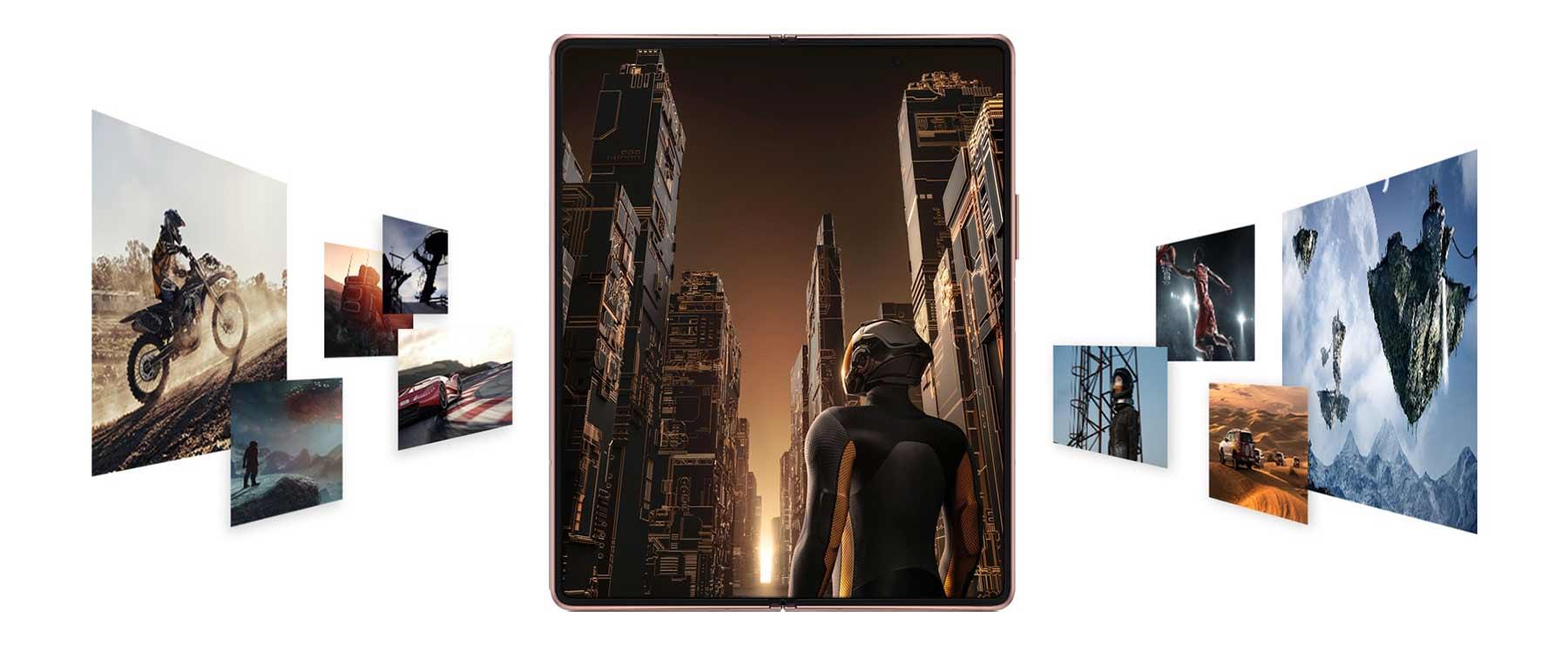 ویژگی گیمینگ در گوشی سامسونگ Galaxy Z Fold2 5G