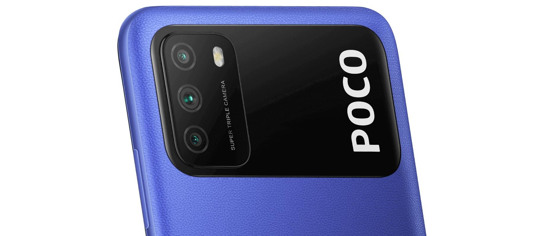 دوربین سه گانه گوشی شیائومی Poco M3