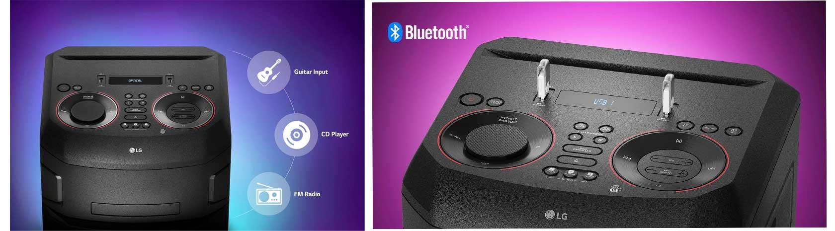 لذت و سرگرمی سیستم صوتی ال جی XBOOM ON5