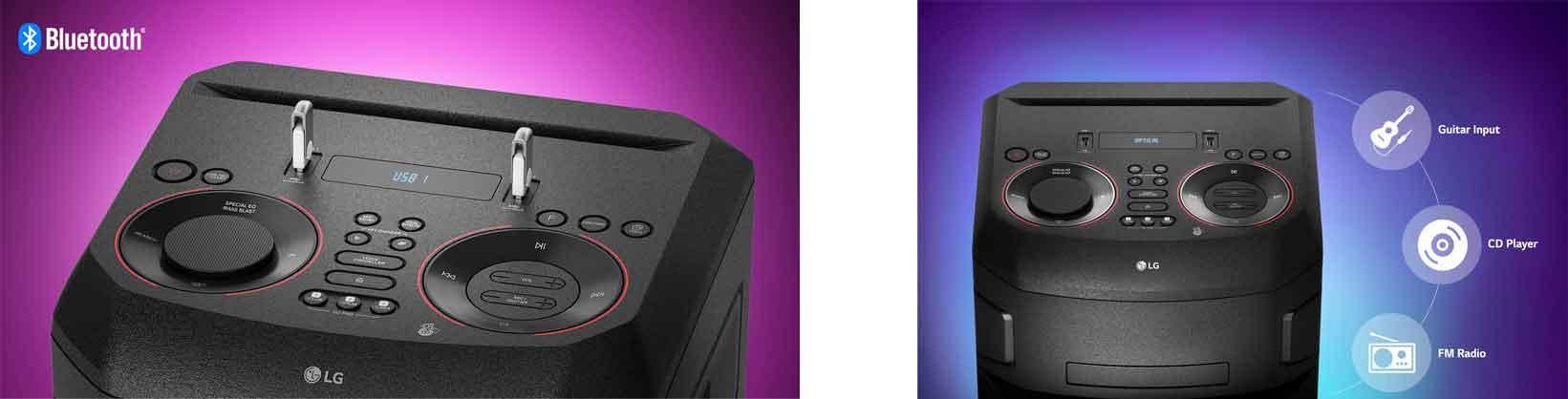 لذت و سرگرمی سیستم صوتی ال جی XBOOM ON7