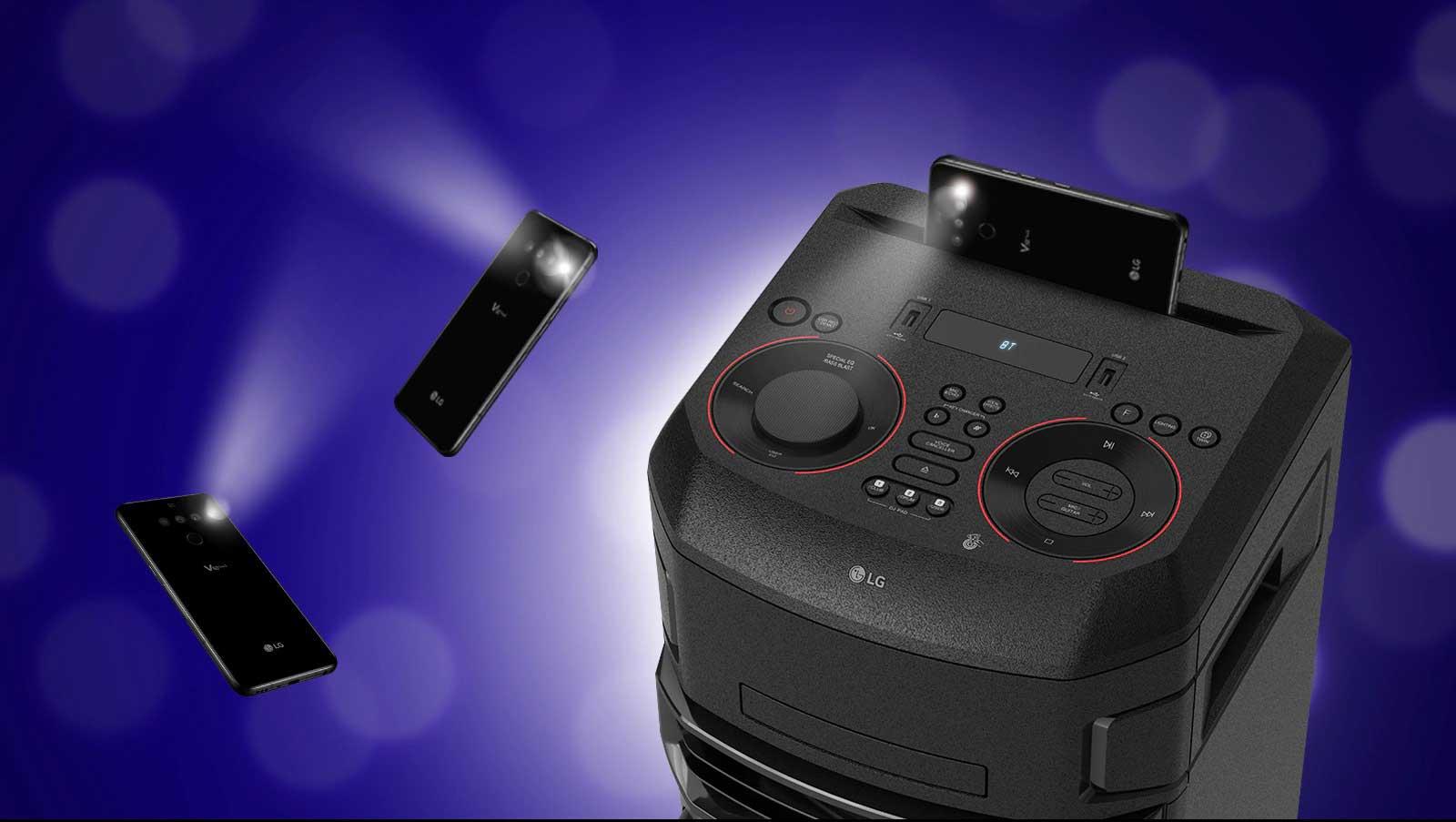 بررسی مختصر سیستم صوتی ال جی XBOOM ON7