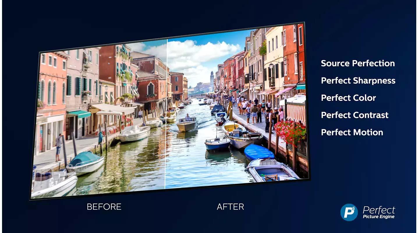 Televizor LED Smart PHILIPS 43PUS8536, Ultra HD 4K, 108 cm