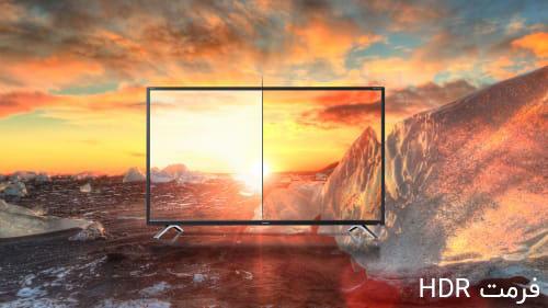 فرمت HDR  تلویزیون شارپ 65 اینچ 65BJ5E