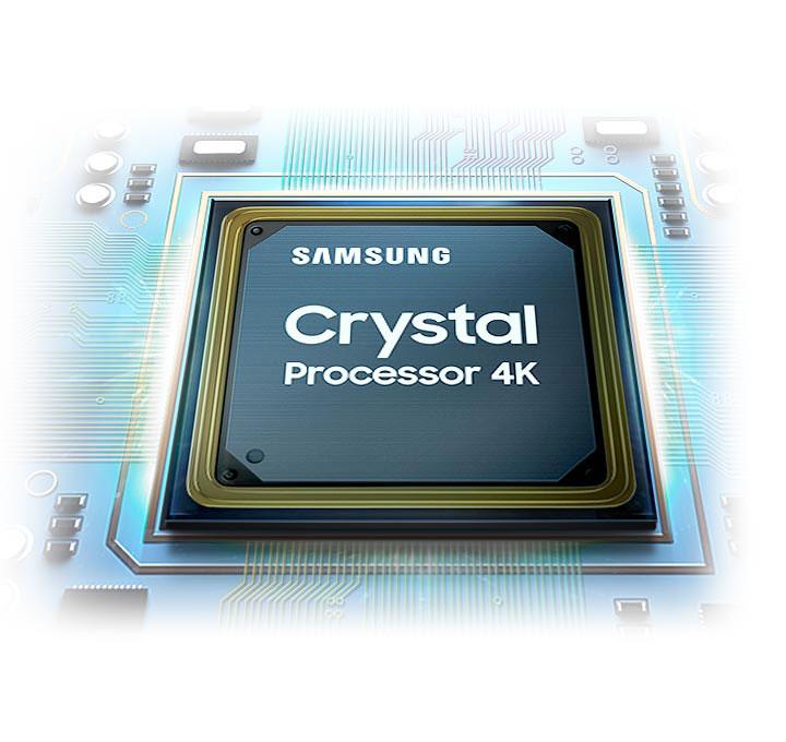 پردازنده قدرتمند تلویزیون سامسونگ 55TU7072