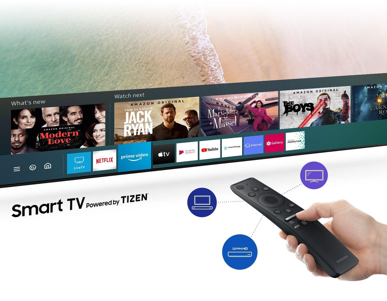 دسترسی به دنیای گسترده ای از محتوا با تلویزیون سامسونگ 55 اینچ 55TU8100