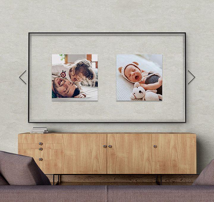 صفحه نمایش جادویی تلویزیون سامسونگ 55TU8100
