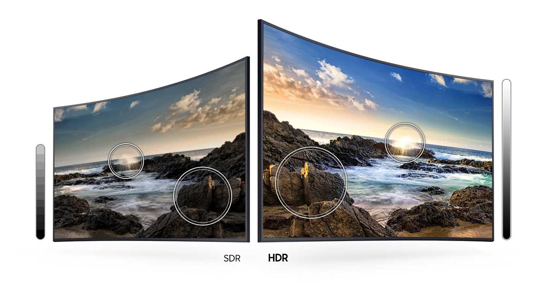 فرمت HDR تلویزیون سامسونگ منحنی 55TU8300