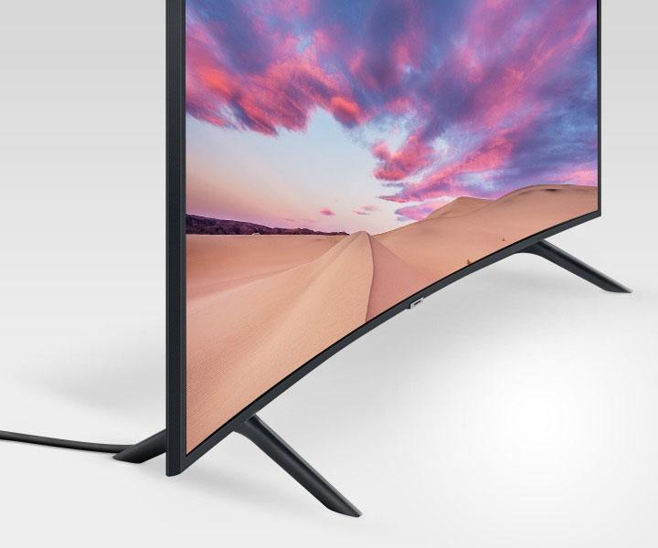 طراحی تلویزیون سامسونگ منحنی 55TU8300