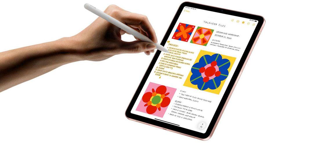 apple pencil در تبلت اپل iPad Air WiFi