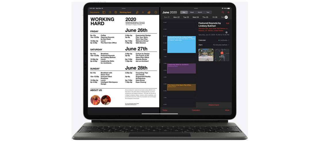 قابلیت Trackpad تبلت اپل iPad Pro